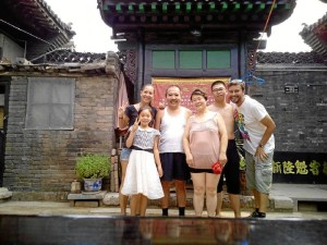Conviviendo con una familia en la ciudad china de Pingyao.
