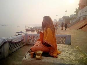 Con este periplo deseaban adentrarse en una cultura milenaria. En la imagen en Varanasi, la ciudad ancestral india del río Ganges.