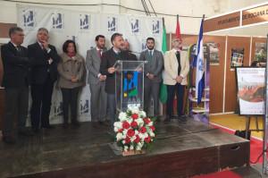 Inauguración de la Feria Agroganadera y Comercial de Rociana.