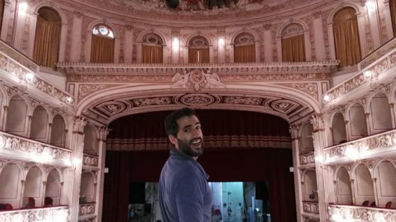 El actor onubense David Herrero, de gira por Italia con 'Bodas de sangre'