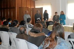 Un total de 75 alumnos de la Escuela de Hostelería Virgen de Belén se forman para servir alcohol de manera responsable