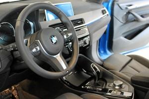 Interior del nuevo BMW X2.