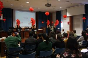 Celebración del Año Nuevo Chino en la UHU.