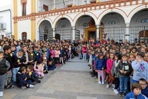 Los alumnos celebraron el Día Escolar de la No Violencia y la Paz.
