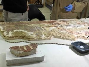 Las piezas pronto estarán listas para su exposición.