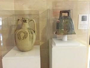 Estas dos piezas, que se encuentran en la entrada de la Sala, también se incluirán en la nueva sección.