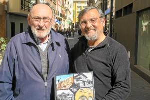 De izquierda a derecha. Ángel Fernández y Francisco Córdoba han estado en la redacción de HBN para presentarnos este libro.