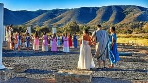 Cada año forma parte de la ambientación musical del Festival de Diana de Aroche.