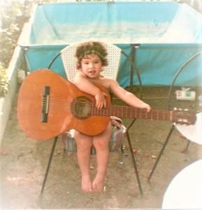 Ha crecido en una familia de grandes aficionados a la música.