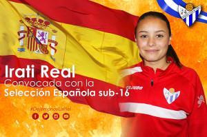 Irati Real acudirá a una nueva llamada de la selección española Sub 16.