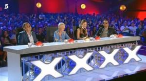 Jurado del concurso de Telecinco.
