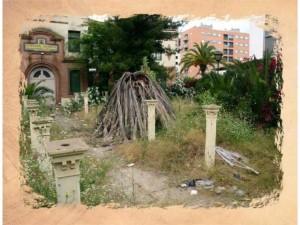 Una de las imágenes incluidas en el libro, referida al antiguo Colegio de Ferroviarios.