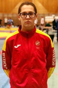 María del Carmen Ramos Díaz completó un buen torneo en Austria. / Foto: @luchaelcampeon.