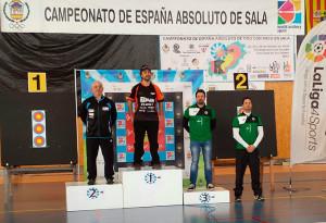 Miguel Ángel Medina Orta logró un trabajado  cuarto puesto en el torneo.