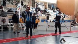 El tirador del Club Asirio, en plena pelea por la medalla de bronce.