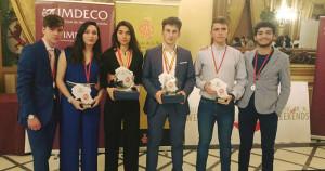 Buena actuación de los deportistas del Club Esgrima Huelva en el torneo celebrado en Córdoba.