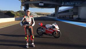 Paquito Gómez está dispuesto a darlo todo en esta nueva temporada en la European Junior Cup de Moto3.