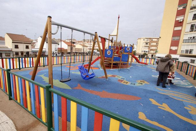 Los nuevos parques infantiles de Huelva estarán adaptados a los menores con discapacidad