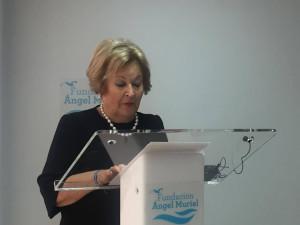 Josefa Moreno es la presidenta de la Fundación Ángel Muriel.