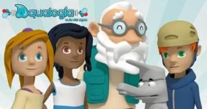 Personajes Aqualogia.