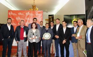 Entrega de premios a los mejores AOVE de la provincia 2017/18.