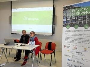 Reunión informativa sobre el proyecto STEPPING, en el que se han dado a conocer sus objetivos y actuaciones.