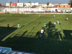 El Atlético Onubense necesita sumar los tres puntos en su partido de este sábado ante el Cabecense. / Foto: M. C.