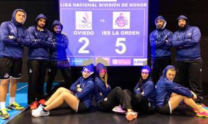 Con su victoria en Oviedo el Recre IES La Orden dio un paso de gigante para una nueva final liguera.