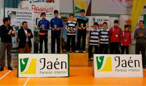 Oro y bronce para el Recre IES La Orden en los dobles masculinos del torneo Sub 13.