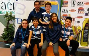 Representantes del equipo onubense en el torneo disputado en Arjonilla.