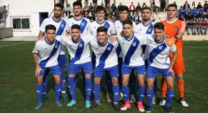 El Atlético Onubense afronta con moral su partido de este domingo en Algeciras. / Foto: recrecantera.es.