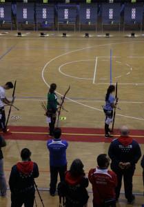 Rocío González, durante una de las eliminatorias.