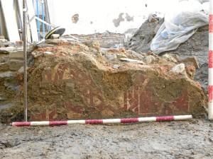 Para el arqueólogo, este hallazgo confirma que San Pedro y sus alrededores eran el núcleo de la ciudad en la época islámica. / Foto: Miguel Ángel López.