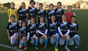 Equipo de Huelva que estará en la final del Andaluz de Selecciones Provinciales Alevín Femenino. / Foto: @FOF.OFICIAL.