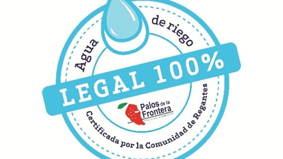 La Comunidad de Regantes de Palos de la Frontera reluce y certifica la garantía y calidad de su agua
