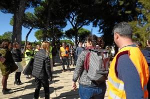 Tres fueron los supuestos a los que se debía enfrentar los trabajadores de la sede de La Rábida.