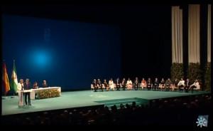 Acto de entrega de las Medallas de Andalucía 2018.
