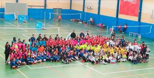 La tercera concentración de Minivoley de la zona Sur de La Provincia en Juego tendrá lugar este sábado en Gibtaleón.