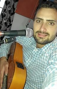 El músico onubense Alberto García González.