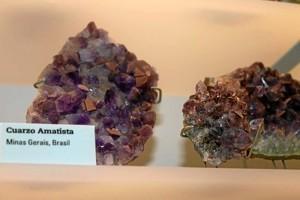 El espacio  alberga pequeñas y grandes joyas de la geología y mineralogía.