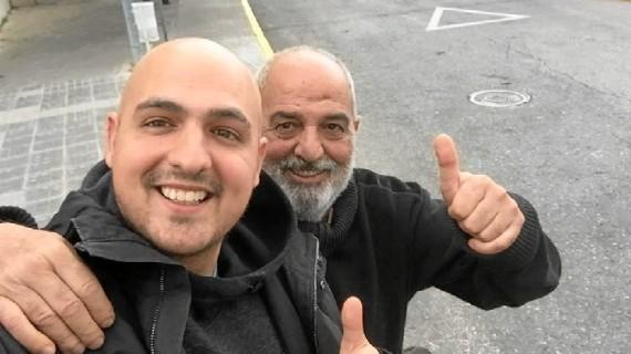 Marcos Rosa ingresa este jueves para recibir su trasplante de médula