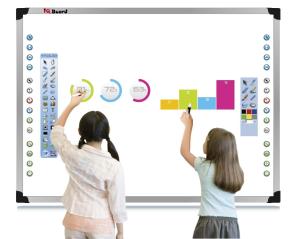 Las pizarras digitales abren nuevos caminos en el aula. / Foto: google.