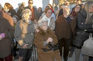 La concesión de la calle a Pilar Marín se hizo efectiva en el Acto de Entrega de los Honores y Distinciones de la ciudad del Día de Huelva 2018.