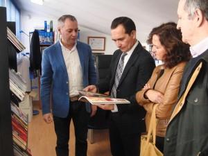 Ceada ha visitado el CEE que gestiona Aspapronias.