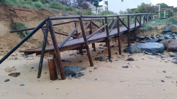 Balance de 98 incidencias gestionadas en las últimas horas por el temporal de lluvia y viento en Huelva