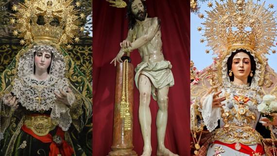Sacramental, Vera Cruz y Soledad, las hermandades que protagonizan la Semana Santa hinojera