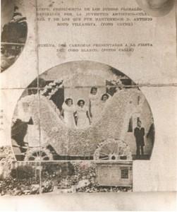 El Coso Blanco celebrado en Huelva aparece en una revista de  tirada nacional (1930).