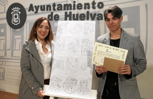 Alexis Sánchez Alonso, ganador del primer premio del concurso.