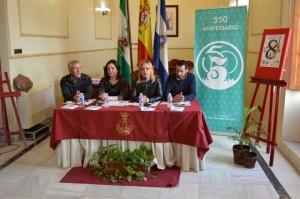 Momento de la presentación, en el ayuntamiento sanjuanero.