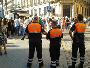 Protección Civil en Huelva.